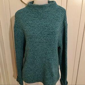 Royal Robbins Sweater -L green , cotton blend